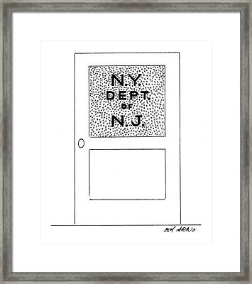 New Yorker February 22nd, 1999 Framed Print by Ed Arno
