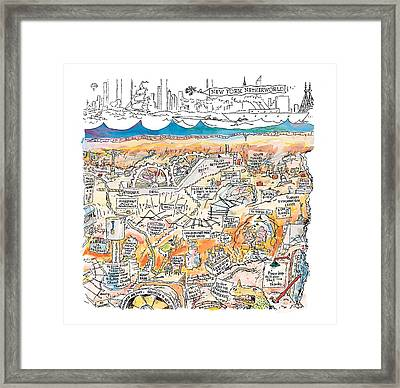 New Yorker February 22nd, 1999 Framed Print by George Booth