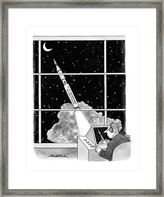 New Yorker February 22nd, 1999 Framed Print by J.B. Handelsman
