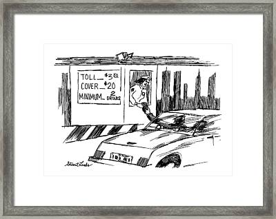 New Yorker February 22nd, 1999 Framed Print by Stuart Leeds
