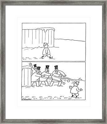 New Yorker February 24th, 1940 Framed Print