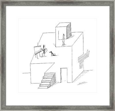 New Yorker February 25th, 1967 Framed Print