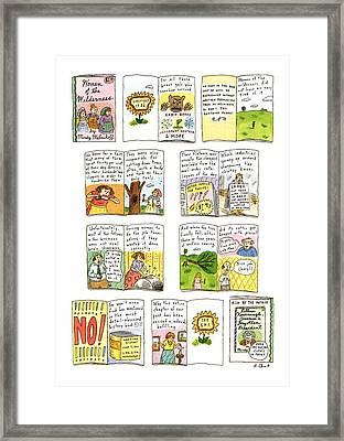 New Yorker February 25th, 1991 Framed Print by Roz Chast