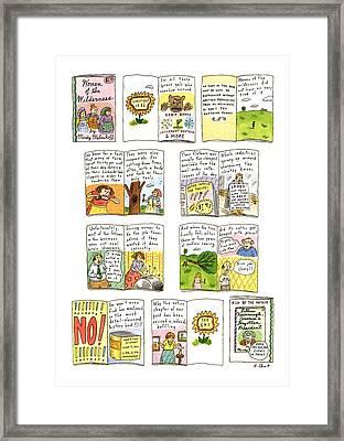 New Yorker February 25th, 1991 Framed Print