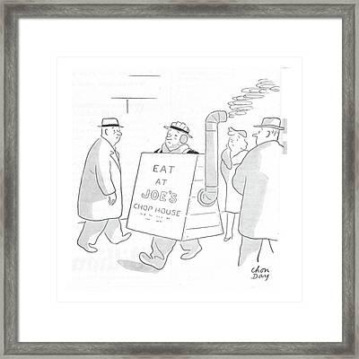 New Yorker February 26th, 1944 Framed Print