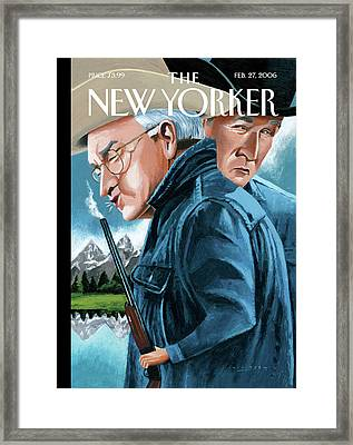 New Yorker February 27th, 2006 Framed Print by Mark Ulriksen