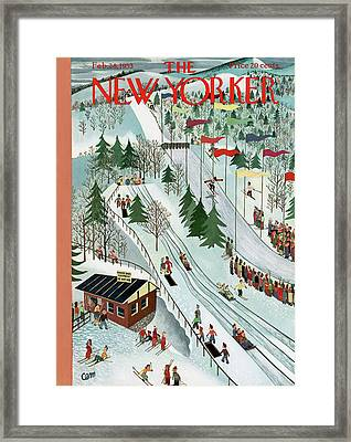 New Yorker February 28th, 1953 Framed Print
