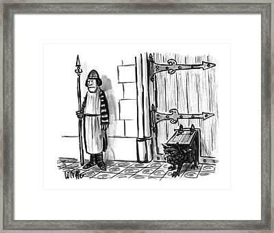 New Yorker February 28th, 1994 Framed Print by Warren Miller