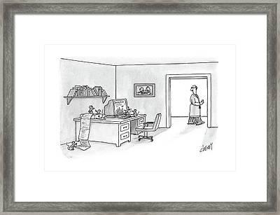 New Yorker February 29th, 1988 Framed Print