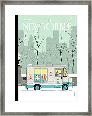 New Yorker February 2nd, 2009 Framed Print