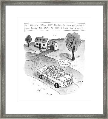 New Yorker February 3rd, 1992 Framed Print by Roz Chast