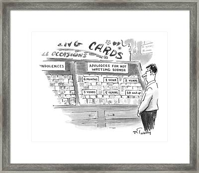 New Yorker February 3rd, 1997 Framed Print by Mike Twohy