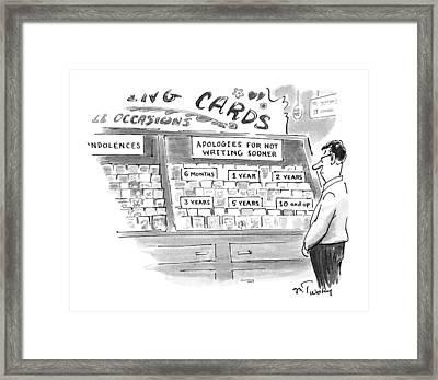 New Yorker February 3rd, 1997 Framed Print