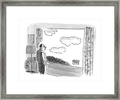 New Yorker February 4th, 1991 Framed Print