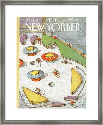 New Yorker February 4th, 1991 Framed Print by John O'Brien