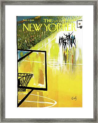 New Yorker February 5th, 1966 Framed Print by Arthur Getz