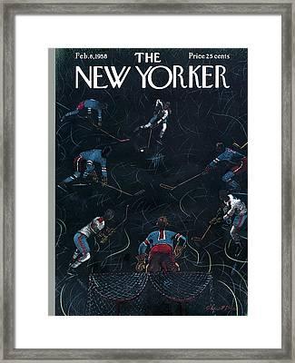 New Yorker February 8th, 1958 Framed Print