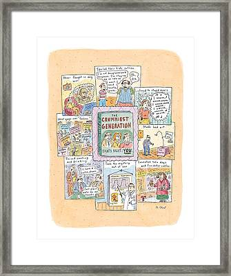 New Yorker February 8th, 1999 Framed Print by Roz Chast