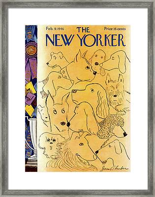 New Yorker February 9th, 1946 Framed Print