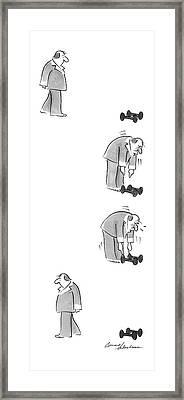 New Yorker February 9th, 1987 Framed Print by Bernard Schoenbaum