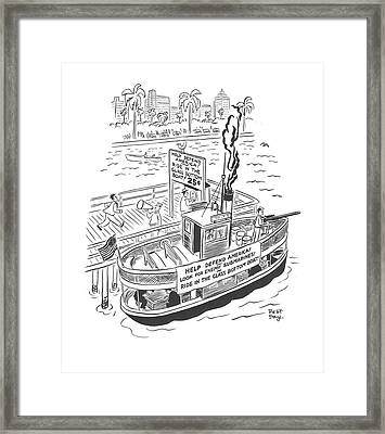 New Yorker January 10th, 1942 Framed Print