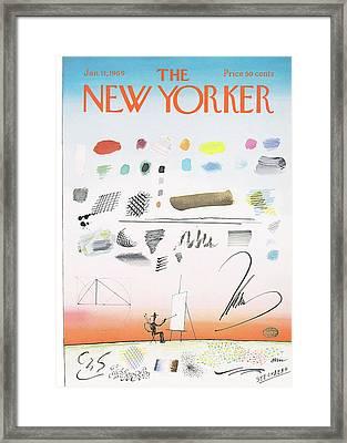 New Yorker January 11th, 1969 Framed Print
