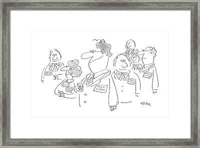 New Yorker January 11th, 1988 Framed Print