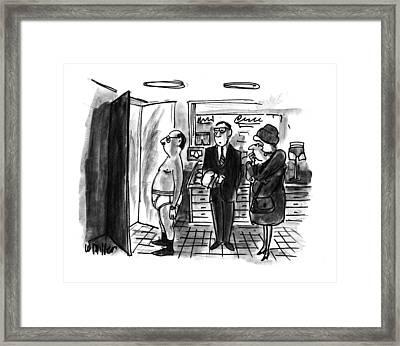 New Yorker January 11th, 1993 Framed Print by Warren Miller