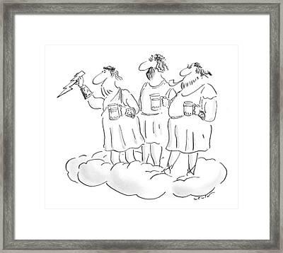 New Yorker January 11th, 1999 Framed Print by Arnie Levi