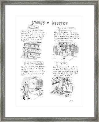 New Yorker January 13th, 1986 Framed Print