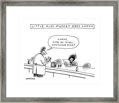 New Yorker January 13th, 1992 Framed Print