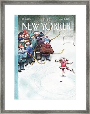 New Yorker January 13th, 2003 Framed Print