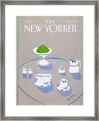 New Yorker January 14th, 1985 Framed Print