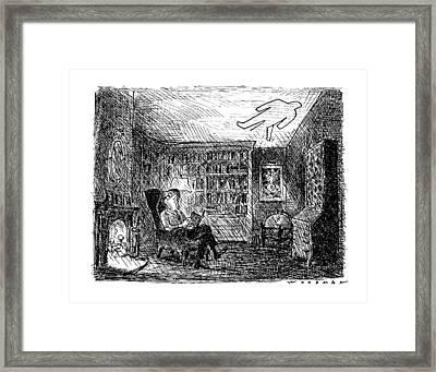 New Yorker January 14th, 1991 Framed Print by Bill Woodman