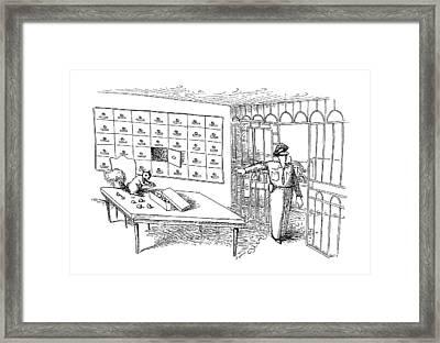 New Yorker January 14th, 1991 Framed Print by John O'Brien