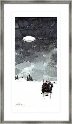New Yorker January 16th, 1995 Framed Print by Gideon Amicha