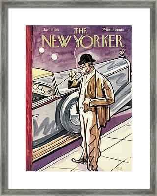 New Yorker January 17th, 1931 Framed Print