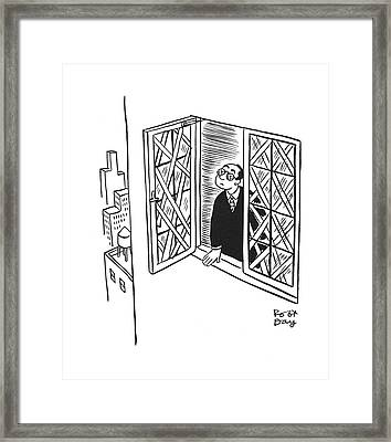 New Yorker January 17th, 1942 Framed Print by Robert J. Day