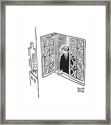 New Yorker January 17th, 1942 Framed Print