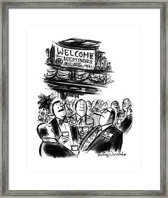 New Yorker January 17th, 1977 Framed Print