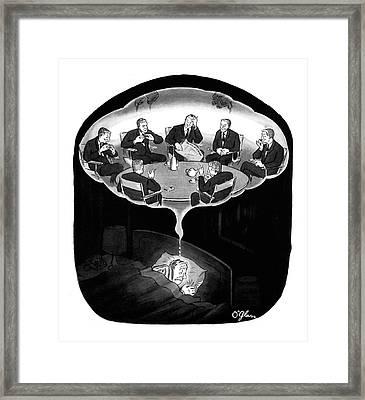 New Yorker January 18th, 1964 Framed Print