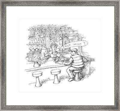 New Yorker January 18th, 1988 Framed Print