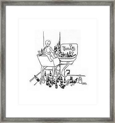 New Yorker January 1st, 1938 Framed Print by Christina Malman