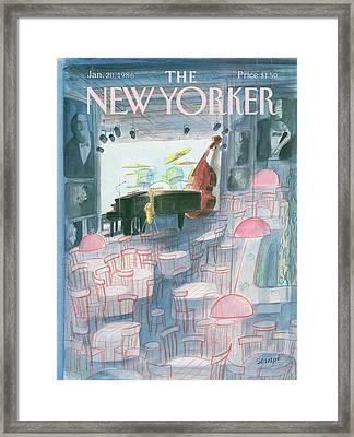 New Yorker January 20th, 1986 Framed Print