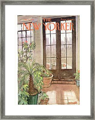 New Yorker January 21st, 1967 Framed Print by Frank Modell