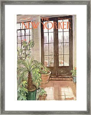 New Yorker January 21st, 1967 Framed Print by Frank Modell