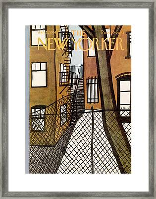 New Yorker January 21st, 1974 Framed Print by Donald Reilly