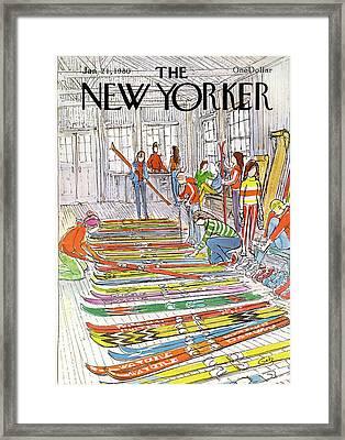 New Yorker January 21st, 1980 Framed Print by Arthur Getz