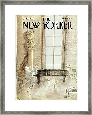 New Yorker January 22nd, 1979 Framed Print by Jean-Jacques Sempe