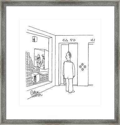 New Yorker January 22nd, 1990 Framed Print by Gahan Wilson
